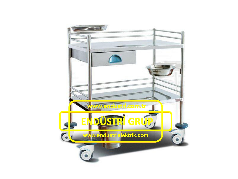 paslanmaz-celik-medikal-hastane-saglik-pansuman-ameliyat-ilkyardim-malzeme-metal-tasima-servis-arabasi